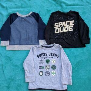 Other - 2 long sleeves + 1 sweatshirt